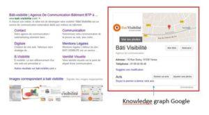 référencement local : le Knowledge graph